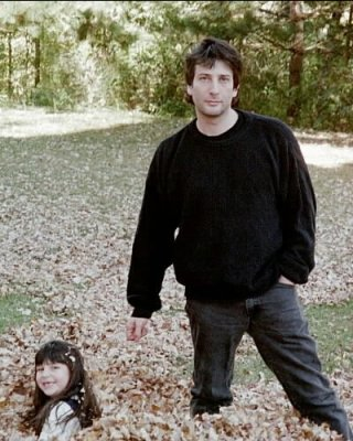Neil and Maddy Gaiman