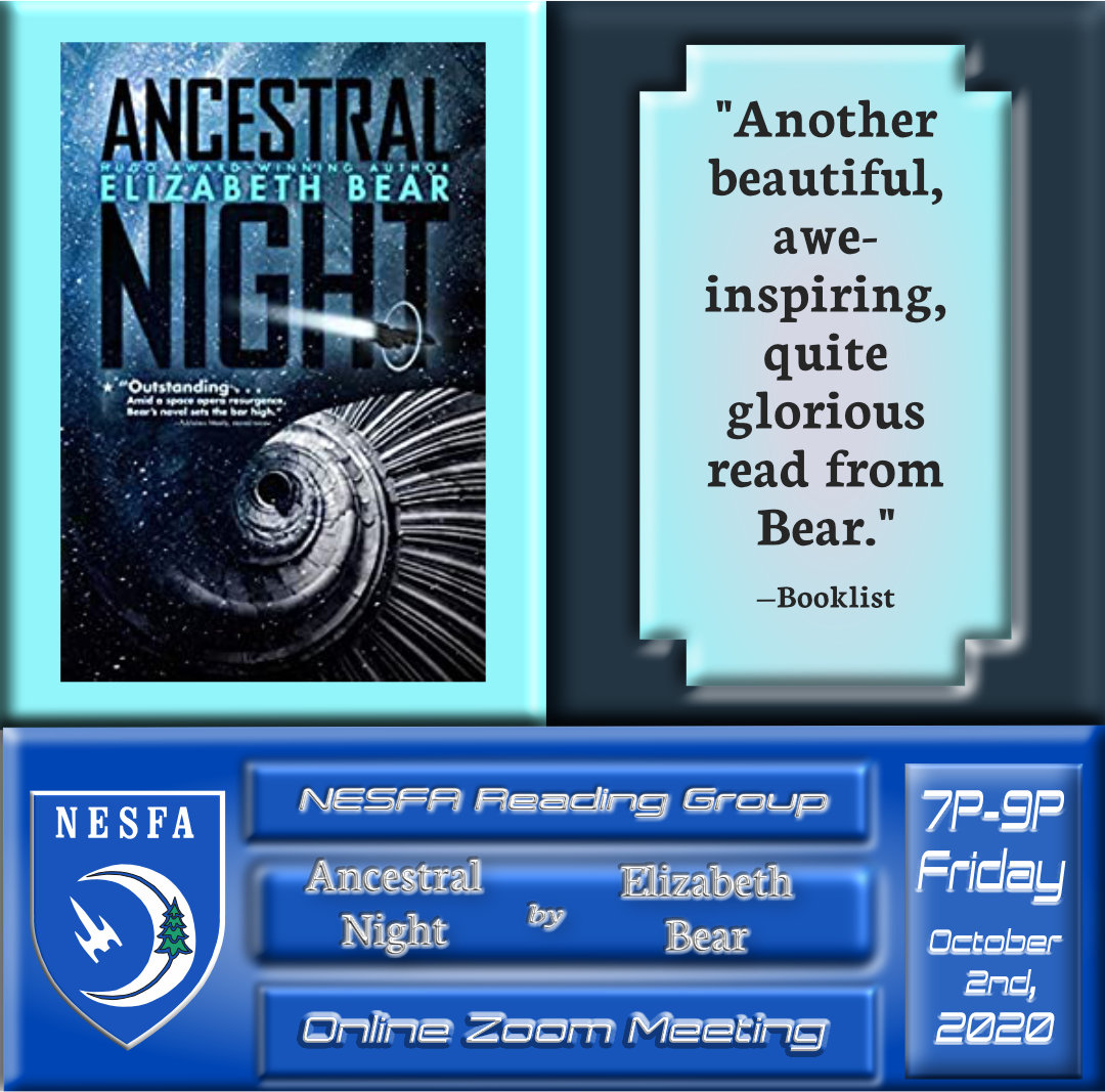 Ancestral Night by Elizabeth Bear – October Book Discussion
