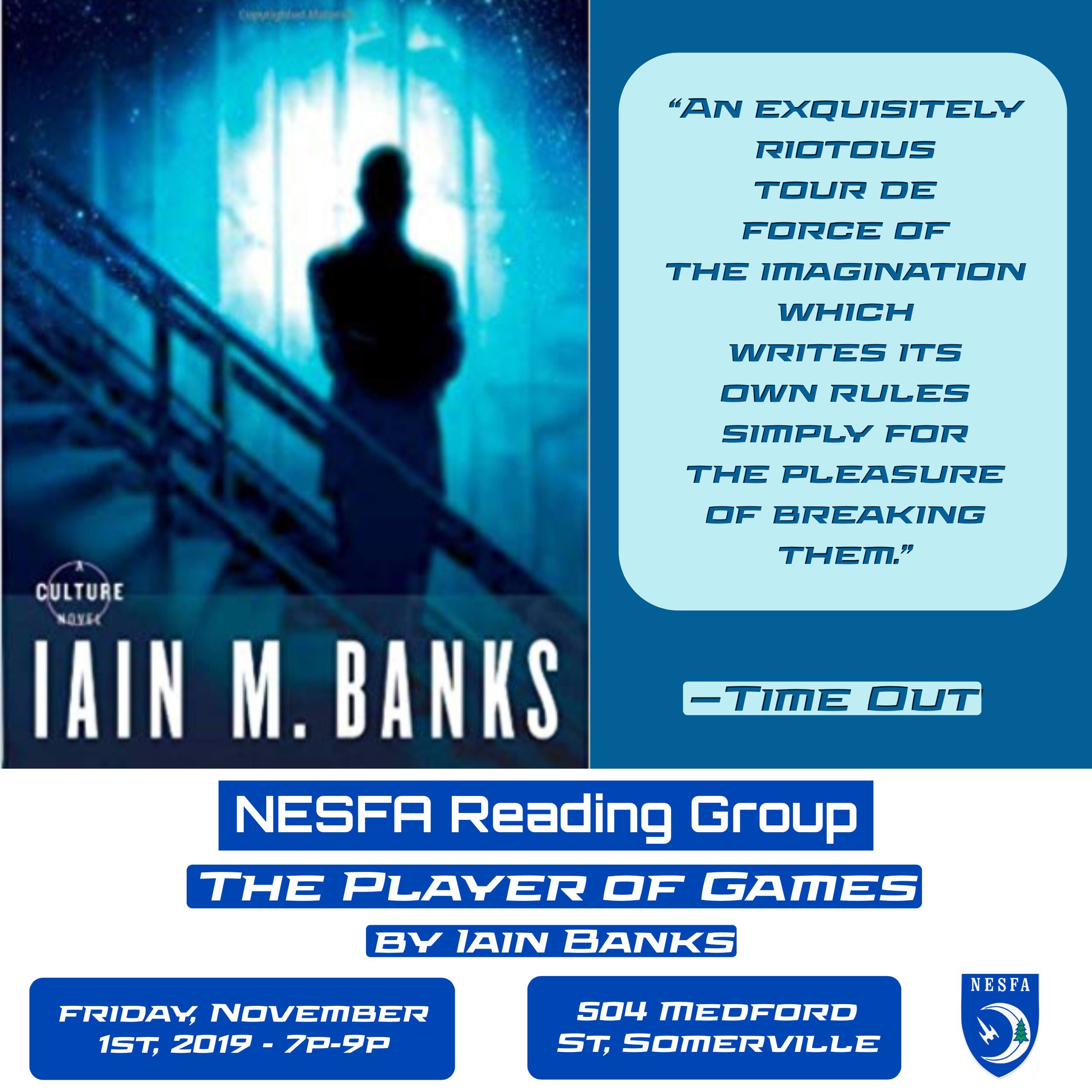 The Player of Games by Iain Banks – November Book Discussion