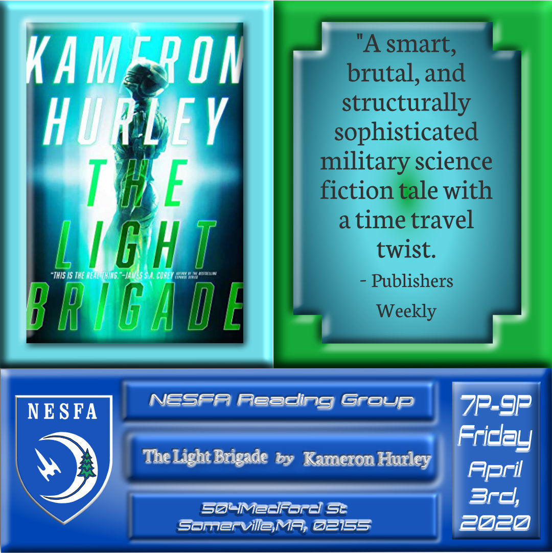 The Light Brigade by Kameron Hurley – <strike>April</strike>May Book Discussion