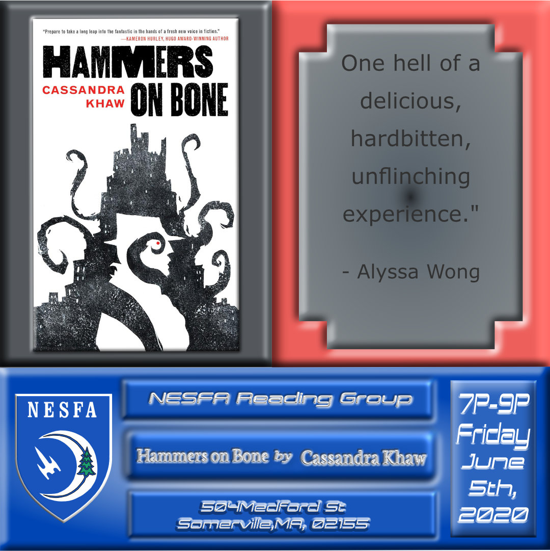 Hammers on Bone by Cassandra Khaw – July Book Discussion