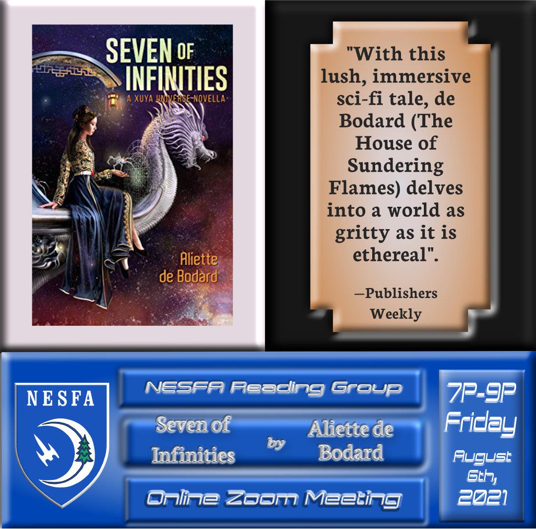 Seven of Infinities by Aliette de Bodard – August Book Discussion